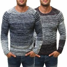 Acrylic Striped Jumpers & Cardigans for Men