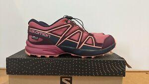 Salomon Speedcross Junior Trail Running Hiking shoes UK 2.5 EUR 35 (worn once as