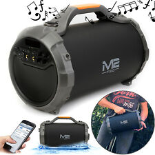 Tragbarer Lautsprecher Musikbox Bluetooth Wireless Karaoke Echo DJ Musicbox Bass