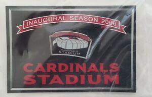 Arizona Cardinals Inaugural Football Season 2006 Stadium Pin New Sealed