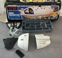 Star Wars Vehicle Rebel Transport 1982 Vintage Kenner Return of the Jedi Parts