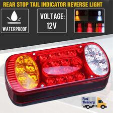 1x Truck Trailer Van Caravan LED Rear Stop Light Tail Brake Lamp 12V Universal