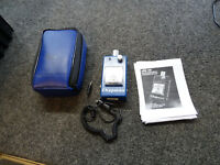 Chapman EOS 100 Electrostatic Meter + Probe & Case & Manual ESD Field Meter