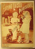 Publicité FARINE LACTEE PARISIENNE OGE   pharmacie  pharmacy advert