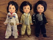 Mattel Barbie ~ Tommy as Elvis Collectors Edition Dolls ~ Lot of 3 ~