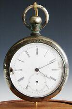 Antique Vintage Signed Centennial Open Face Pocket Watch