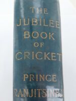 "1897 1st EDITION ""THE JUBILEE BOOK of CRICKET"" by PRINCE RANJITSINHJI"