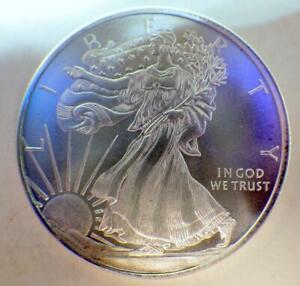 Silver Walking Liberty American Precious Metals .999 Fine 1/2 Troy Oz Proof-Like