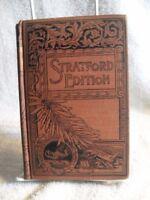 """Essays"" Stratford Edition F.M. LUPTON Ralph Waldo Emerson 1892"