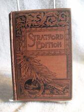 "SCARCE! ""Essays"" Stratford Edition F.M. LUPTON Ralph Waldo Emerson 1892"