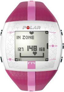 POLAR FT4 Fitness & Cross Training Heart Rate Monitor (Purple/Pink) Refurbished