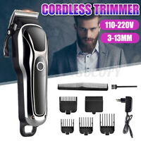 Electric Hair Trimmer Clipper Barber Shave Haircut Cutting Set Machine Kit