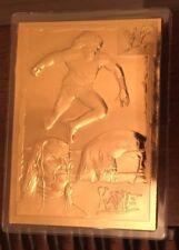DANBURY MINT 22KT GOLD WWF KANE CARD