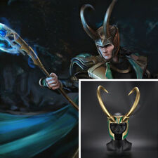 2017 Thor 3 Loki Helmet PVC Adult Cosplay Props Horns Hat Headpiece Ragnarok Hot