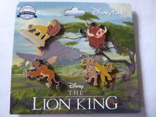 Disney Trading Pins 134871 Lion King Booster Set