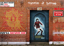 Manchester United Street Art Old Trafford UK