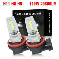 Pair P13W 43x High Power Canbus LED 10W DRL Bulbs 12V 13W For Mercedes E-Class