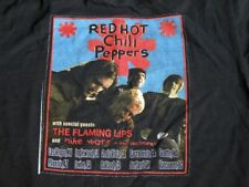 Red Hot Chili Peppers w/ Flaming Lips Special Guest Concert T Shirt L 2003 Tour