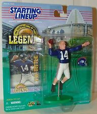 NFL HOF Legends Starting Lineup Y.A. Tittle New York Giants - 1998