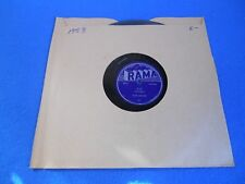 """78 RPM """"GEE/I LOVE YOU SO"""" THE CROWS - RAMA - 1953"""