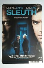 SLEUTH MICHAEL CAINE JUDE LAW COVER ART MINI POSTER BACKER CARD (NOT a movie)