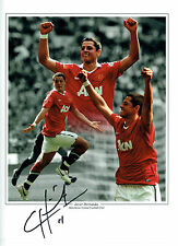 Chicharito Javier HERNANDEZ Signed Autograph 16x12 Montage RARE Photo AFTAL COA