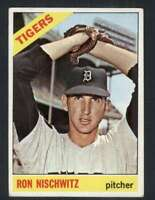 1966 Topps #38 Ron Nischwitz VG/VGEX Tigers 69010
