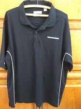 NEW Tehama Han'em Dry Carmel Road Winery Embroidered Men's Polo Sz XL Black