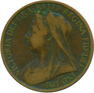 1901 ONE PENNY OF QUEEN VICTORIA    #WT14320