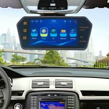 """7"""" LCD Car Rear View Backup Mirror Monitor Touch Screen Bluetooth USB SD Remote"""