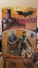 Batman Begins Dual Blade Bruce To Batman Action Figure (MOSC, Mattel, 2005)