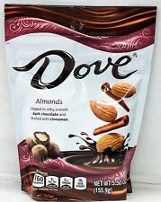 Dove Dark Chocolate Dipped Almonds Dusted with Cinnamon 5.50 oz