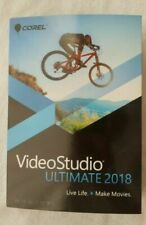 NEW & SEALED * Corel VideoStudio Ultimate 2018 for Windows * Make Movies