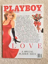 Playboy Magazine. February 1989 Back Issue.  Special Love Edition.