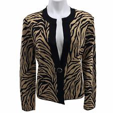Jones New York Animal Print Cardigan Sweaters for Women for