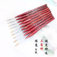 Set/6Pcs Paint Brush Acrylic Oil Artist Watercolor Painting Brushes Supplies CF7