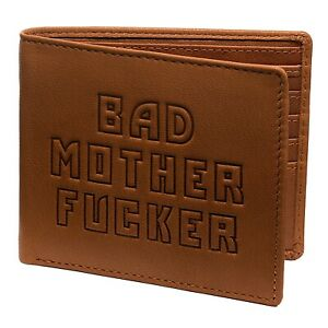 Bad Mother Fu*ker wallet in Leather - Black, Tan, Brown - Bad Wallets ® Licensed