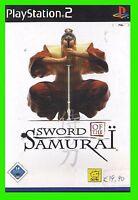 SWORD of the SAMURAI ps2 playstation 2 ITA video giochi