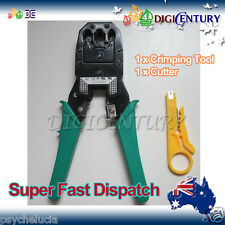 BRAND NEW Crimper for RJ45 / RJ11 LAN Ethernet Crimping Cable Tool Cat5e CAT6