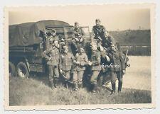 Foto LKW Man / Diesel / Mannschaftswagen  Wehrmacht (8108)