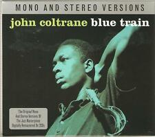 JOHN COLTRANE BLUE TRAIN MONO AND STEREO VERSIONS - 2 CD BOX SET