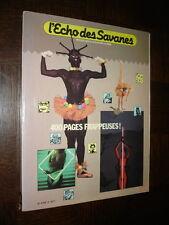L'ECHO DES SAVANES - 2 - Recueil des n° 5 à 8 Nouvelle Série
