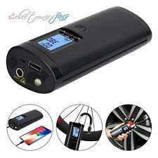 Air Pump For Ball Car Bike Tires Portable Compressor Rechargeable Electric