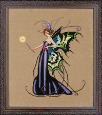 Mirabilia Cross Stitch Chart.MD122  August Peridot Fairy Cheap Shipping.
