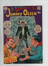 Superman's Pal Jimmy Olsen #123 - Sacrifice of Jimmy Olsen! - (Grade 4.0) 1969