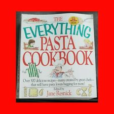 Cookbook#The Everything Pasta Book:300 Delicious Recipes From Great Chefs+Cook S