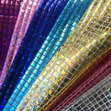 Hologram Square Sequins Fabric for Decoration and Crafts 44