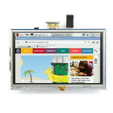 5-inch Resistive Touch Screen LCD Display HDMI for Raspberry Pi XPT2046 da