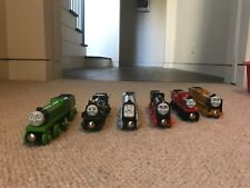 Thomas & Friends Wooden Train Set - Murdoch, James, Hiro, Spencer, Emily, Henry