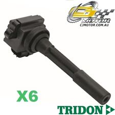 TRIDON IGNITION COIL x6 FOR Holden  Rodeo TF97 - TF99 2/97-1/03, V6, 3.2L 6VD1
